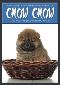 Chow Chow blad 2017 Hjelme A Head Full Of Dreams