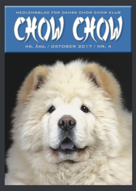 Chow Chow medlemsblad nr. 4 2017