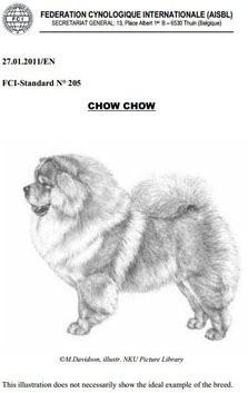 Racestandard Chow