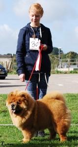 Årets Barn og hund Mathilde