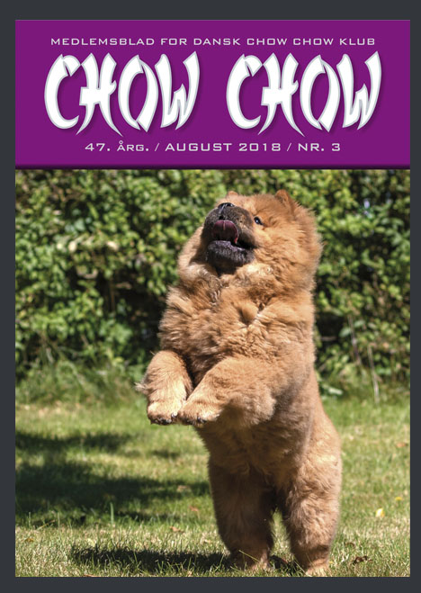 Chow Chow medlemsblad august 2018
